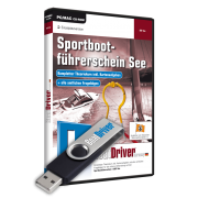 BoatDriver - SPORTBOOTFÜHRERSCHEIN See Ausbilderversion (USB, Software, Windows)