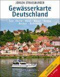 Gewässerkarte Deutschland Süd