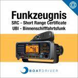 Online: BoatDriver - Funkzeugnis SRC (inkl. UBI-Fragen) (d)